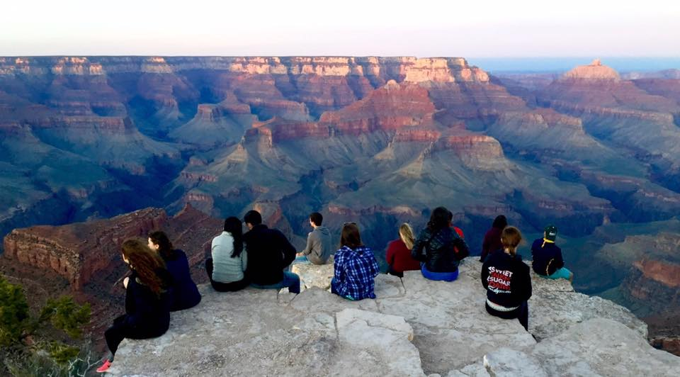 Staam at the Grand Canyon in Spring 2017.