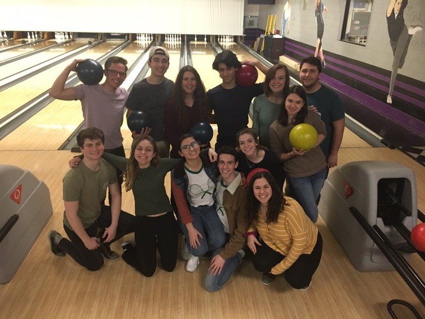 Staam goes bowling for some ~stress relief~.