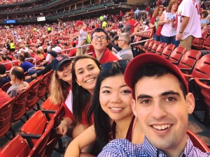 Staam goes to a Cardinals game!